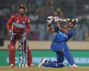 Lahiru Thirimanne lifted Sri Lanka with a lively 44 © ICC