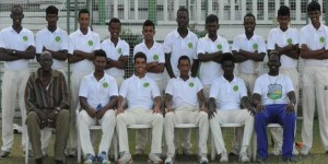 Victorious Demerara U-19 3-Day team