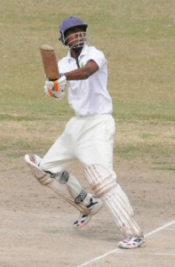 Sunil Singh in action at GCC ground