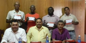 GCB Executives and representative of Essequibo Area Committees
