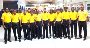 victorious Guyana U-15 team