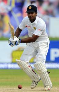 Kumar Sangakkara went past Rahul Dravid on the list of most Test tons © AFP