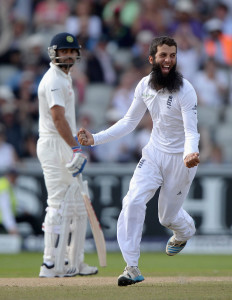 Moeen Ali produced a flurry of wickets after tea © Getty Images