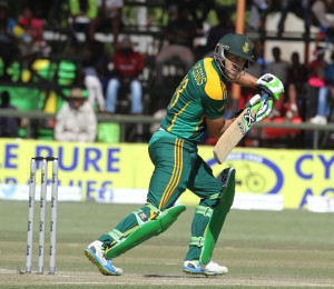 Faf du Plessis kickstarted South Africa's chase © Associated Press