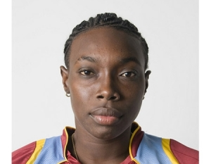 Uncapped fast bowler Shamilia Connell has been called for the T20 series against New Zealand Women. (Picture courtesy WICB Media)