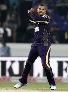 Sunil Narine bamboozled the Lahore Lions batsmen © BCCI