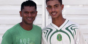 Shiv and Tagenarine Chanderpaul