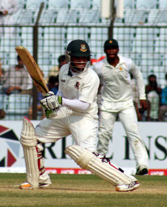 After losing his place in the side during the year, Mominul Haque answered his critics by scoring runs heavily © BCB