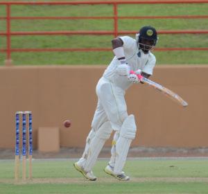 Narsingh Deonarine scored 110 in Jaguars lone innings