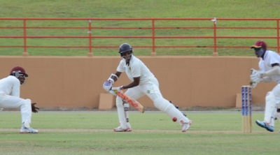 Shivnarine Chanderpaul played his part with the bat