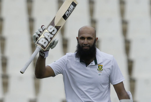Hashim Amla moved to a double hundred © Associated Press