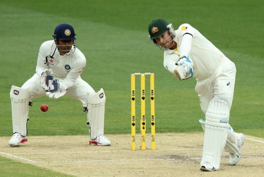 Michael Clarke on the attack © Getty Images