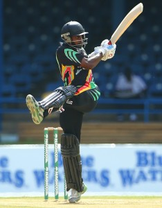 Rajendra Chandrika scored 52 for Guyana © WICB Media/Ashley Allen