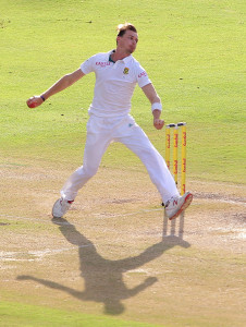 Dale Steyn tore into West Indies late in the day © Gallo Images