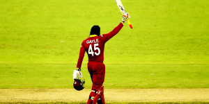 Chris Gayle slammed 215  against Pakistan