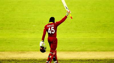 Chris Gayle slammed 215  against Pakistan