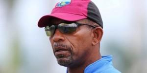 Cricket - West Indies Nets - Sir Vivian Richards Stadium, Antigua - 12/4/15. West Indies Head Coach Phil Simmons during nets. Action Images via Reuters / Jason O'Brien