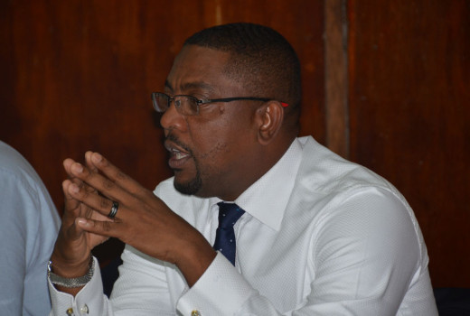 President of WICB, Whycliff 'Dave' Cameron