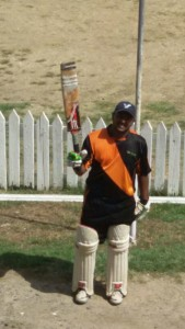 Danny Narayan scored a century for East Bank Demerara/Upper Demerara