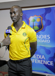 Guyana Jaguars Assistant Coach/Manager, Rayon Griffith