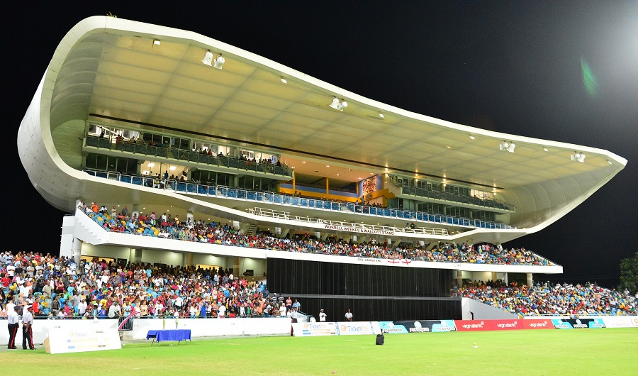 The Kensington Oval in Barbados will host three group matches and the final as well