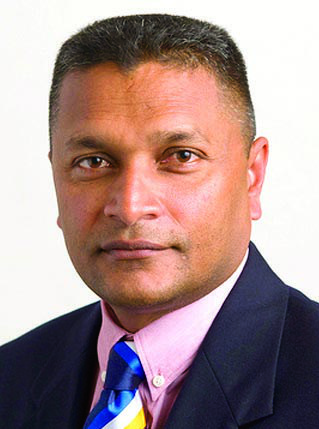 Secretary of GCB and Director of WICB, Anand Sanasie