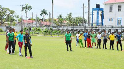 Guyana U-19 female squad