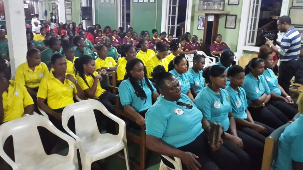 Opening Ceremony of WICB Women's Tournament 2016