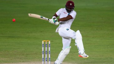 Darren Bravo swivels into a pull © Getty Images