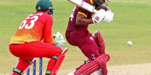 Shai Hope's maiden ODI century was not enough for West Indies to topple Zimbabwe © AFP